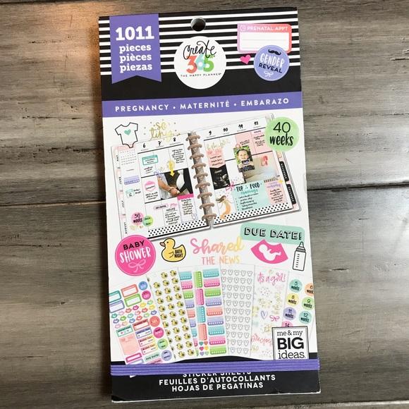 Me & My Big Ideas Accessories - The Happy Planner Pregnancy Sticker Book